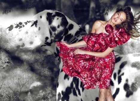 Dalmatian Fashion Scenes