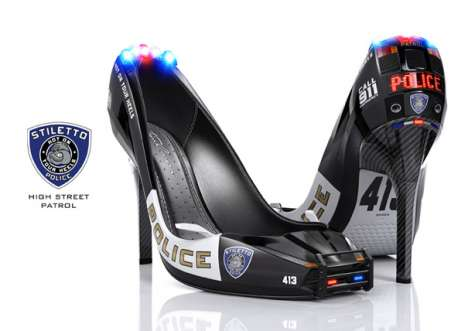Stiletto Police Shoes