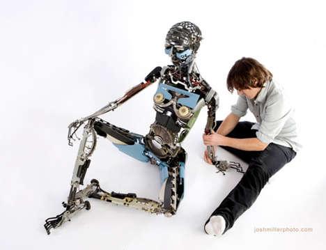 Suggestive Typewriter Robots