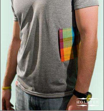 Multicolor Side Pockets