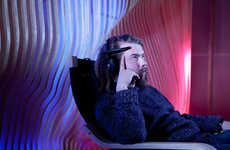 Telekinetic Light Shows - The Interaxon Light Installation is Thought-Controlled