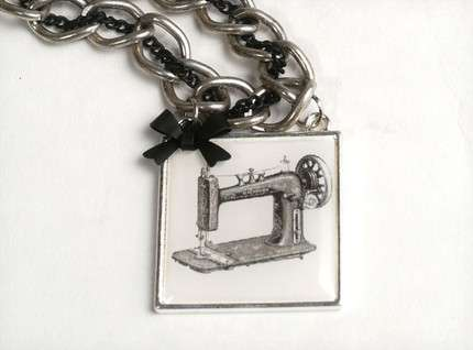 Guns n' Roses Necklaces - Love Las Muertas Creates Mod Vintage Jewelry