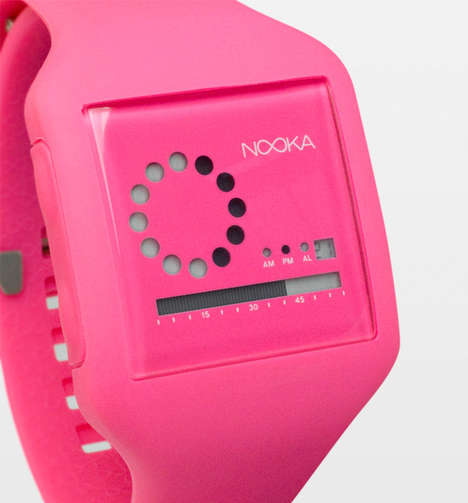 Bubble Gum-Colored Watches