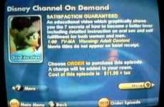 Adult Disney - Disney Decides to Try Adult Disney Channel on Demand