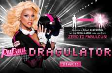 Drag Queen Yourself - The Dragulator Turns You into a Queen to Promo 'RuPaul's Drag Race'