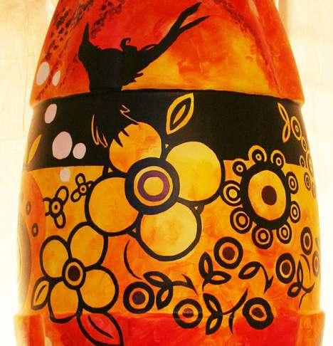 Aboriginal Art Bottles
