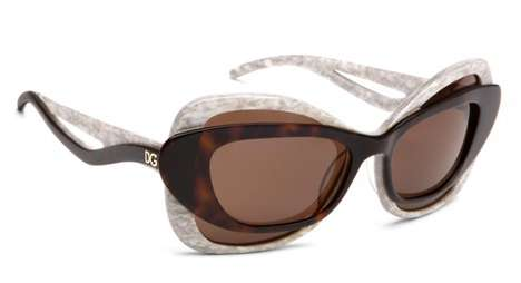 Double-Framed Sunglasses - Dolce & Gabbana's 2010 Shades are a Double Whammy