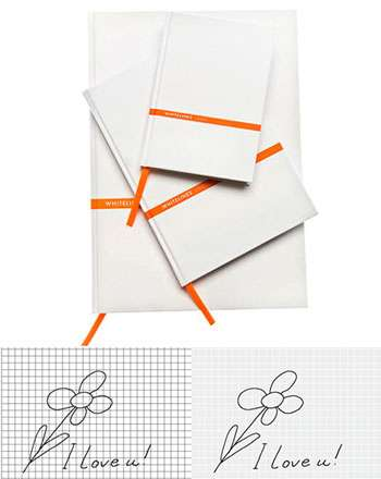 Clever Eco Paper - Whitelines Turns Writing Upside Down by Bleaching the Lines, Not the Paper