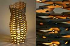 Clothes Pin Lamps