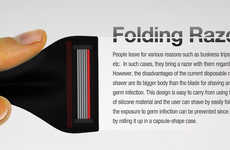 Flexible Shavers - The Folding Razor is a Sharp Invention