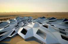 Ironic Eco-Architecture - The King Abudullah Petroleum Research Center Goes for LEED Platinum