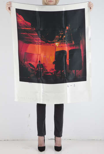 Picturesque Silk Scarves - Polaroid Accessories by Philippe Roucou