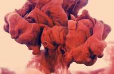 Underwater Paint Explosions - The Alberto Seveso 'Medicina Rossa' Portfolio is Breathtaking