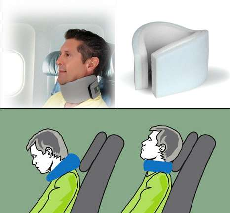 Neck Brace Pillows : Embrace Sleep Collar