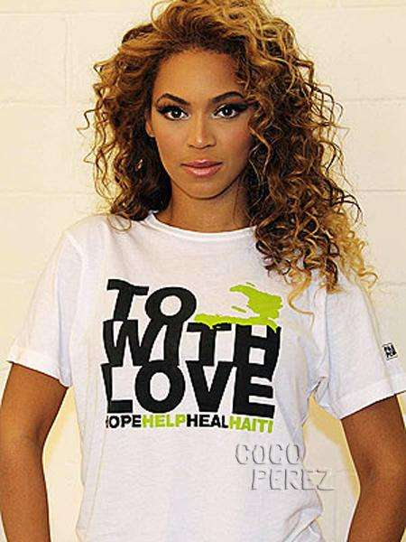 T-Shirts for Haiti - Fashion Leaders & Celebs Help a Worthwhile Cause