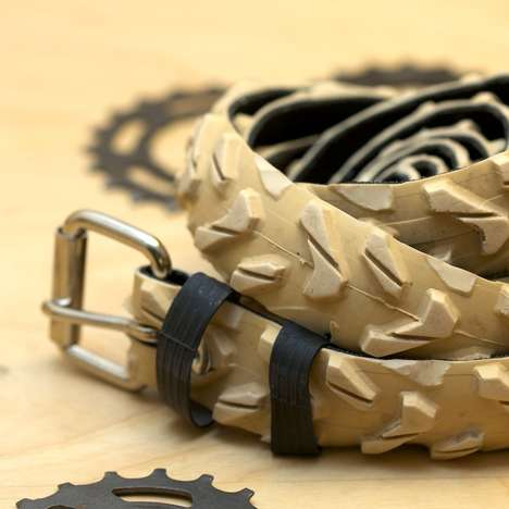 Bike Tire Belts - Julien Jaborska Channels His Love for Cycling into Fashion