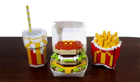 Toy Block McDonald's - The LEGO Big Mac Combo is Not One You Want to Sink Your Teeth Into