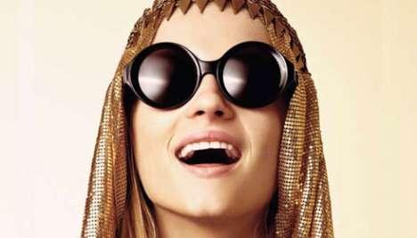 Glam Gilt Glasses