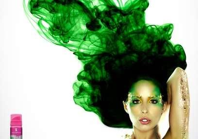 Air-Defying Hair Ads