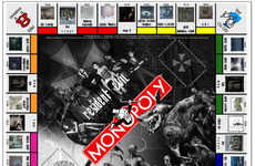 Evil Board Games - Nicholas Endean's Resident Evil Monopoly Will Haunt Your Capitialistic Dreams