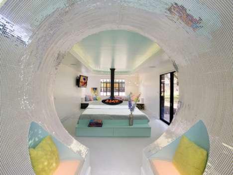 Psychedelic Pod Bathrooms