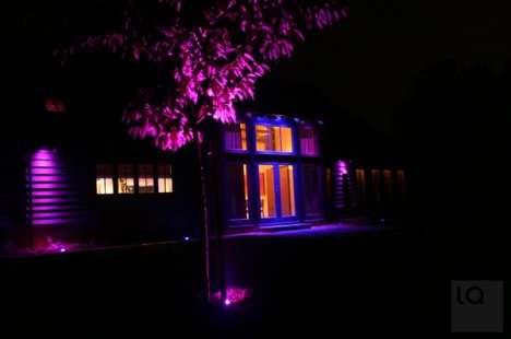 Psychedelic Exterior Lighting