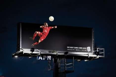 Interactive Nighttime Ads