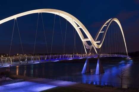 Blue-Lit Bridges