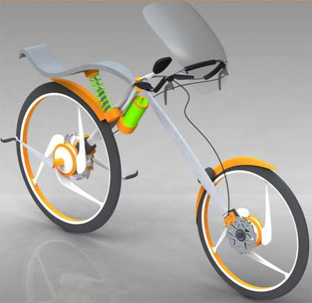 Fashion-Forward Bikes - Designer Uses Aesthetics to Promote Eco Transportation
