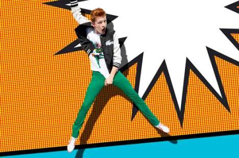Chromatic Pop Art Ads