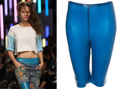 'Avatar'-Inspired Bike Shorts