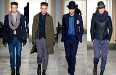 Broody Romantic Menswear - The Robert Geller Fall Collection is Gothically Tailored