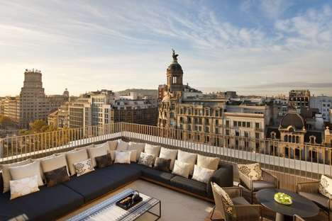 Rooftop Palaces - Mandarin Oriental Opens Hotel in Barcelona