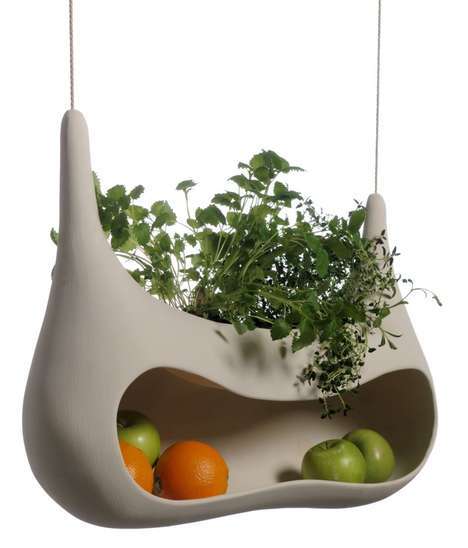 Swinging Produce Storage