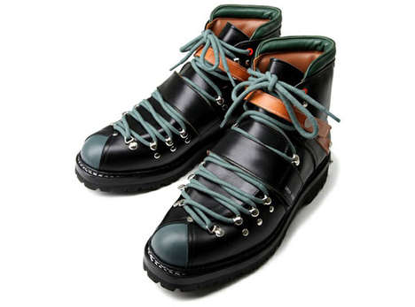 Punk-Inspired Hiking Boots