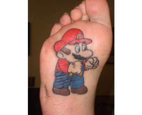 Top 11 Leg and Foot Tattoos