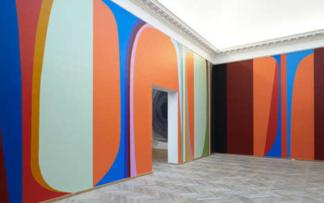 Confident Color Exhibitions - Malene Landgreen's Six-Room 'Color State' Art Display