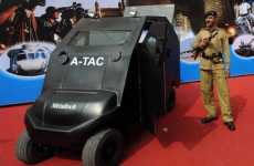 Indoor Armored Cars - The Anti-Terrorist Assault Cart is Desinged to Fight Indoor Bad Guys