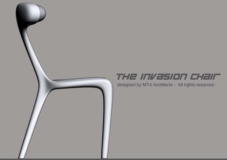 The MT4 Invasion Chair Provides Relaxation That's Out of This World