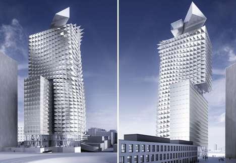 Punk Porcupine Buildings
