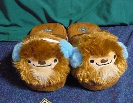 Olympic Mascot Slippers