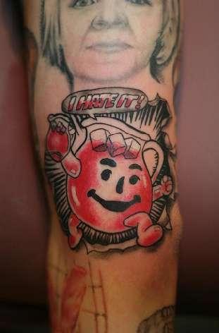 Fatty Food Tattoos