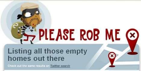 Burglary-Friendly Websites