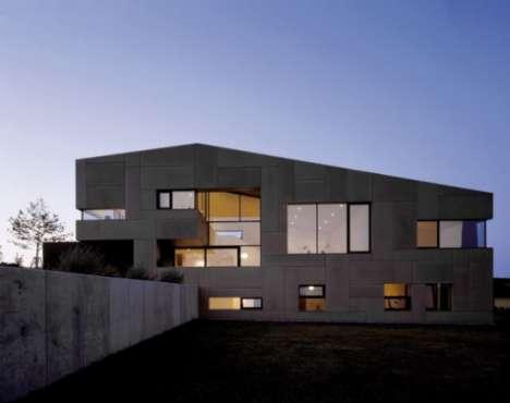 Quadratic Austrian Architecture