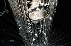 Scarytale Chandeliers - Fiona Gall Presents Cinderella's Revenge at London's Liberty Shoe Store