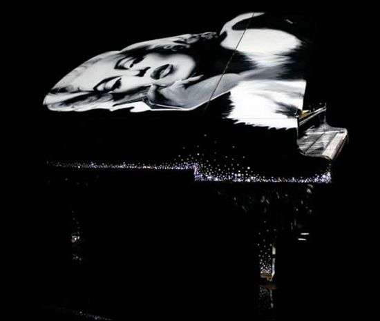 Crystallized Pin-Up Pianos