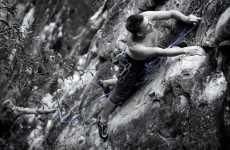 Cliff-Hanging Photo Shoots - 'Climbing Rocks' by Zenstick Photography Focuses on Extreme Sports