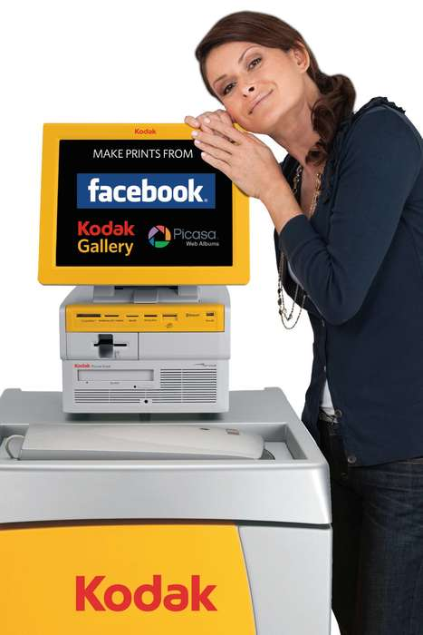 Facebook Photo Kiosks