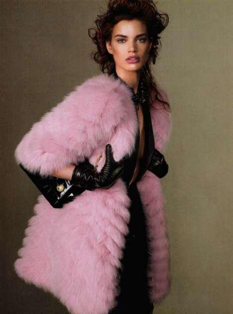 Pastel Pink Furs