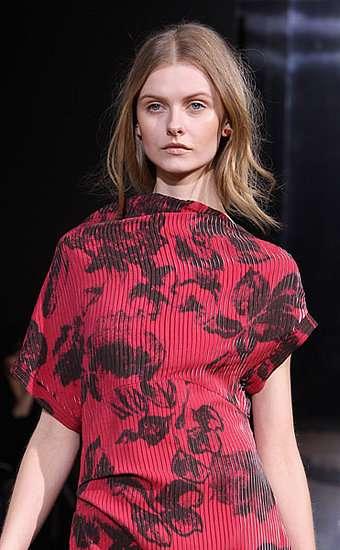 Poncho-Like Couture